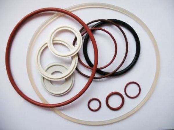 Oiltight products of silicone compounded rubbers: gaskets, rings, cuffs, sealings